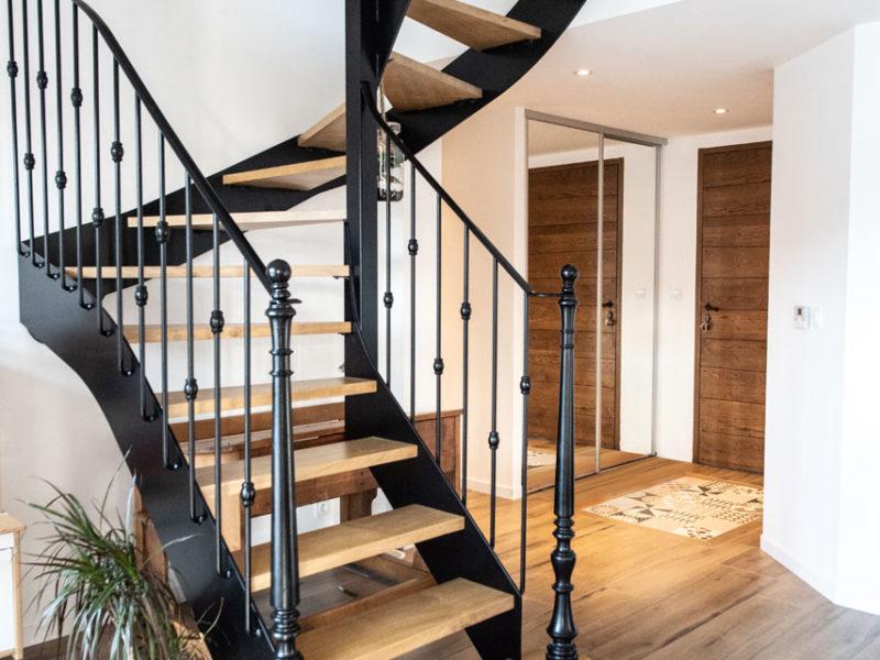 Escalier - Architecture d'intérieur - AMBERIEU EN BUGEY- ain