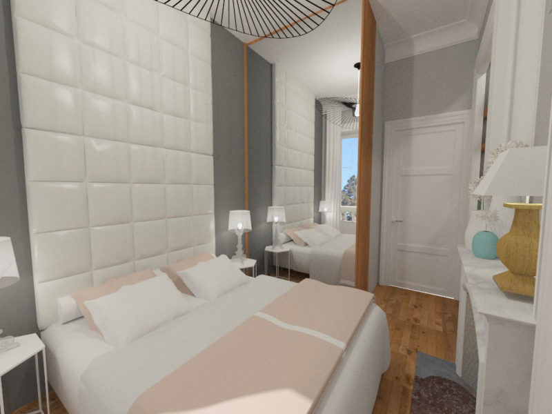 Chambre parentale -Imagerie 3D - LYON - rhône