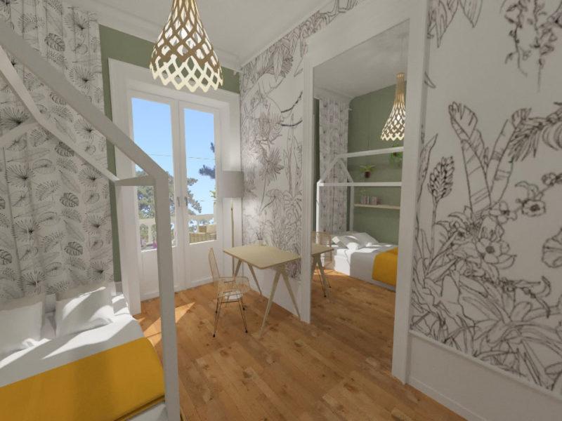 Chambre enfant -Imagerie 3D - LYON - rhône