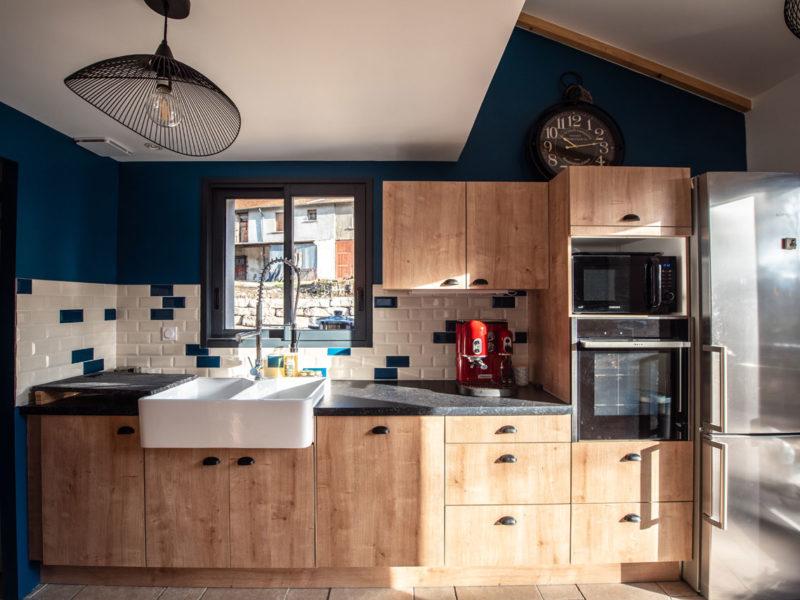 Cuisine- Architecture d'intérieur - AMBERIEU EN BUGEY- ain