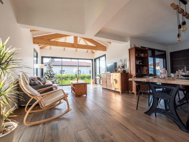 Salon - Architecture d'intérieur - AMBERIEU EN BUGEY- ain