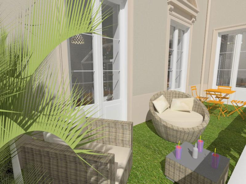 Terrasse-Imagerie 3D - LYON - rhône