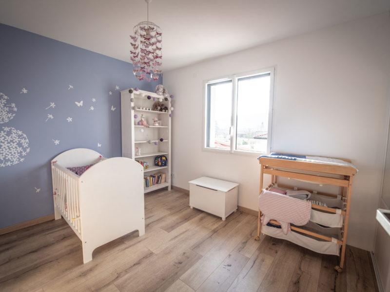 Chambre bébé - Architecture d'intérieur - AMBERIEU EN BUGEY- ain