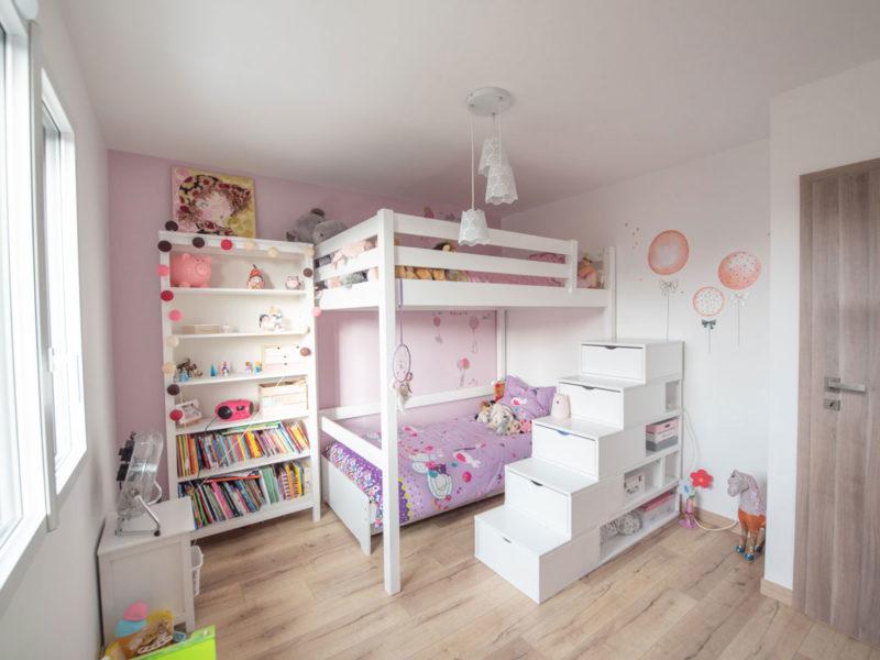 Chambre enfants - Architecture d'intérieur - AMBERIEU EN BUGEY- ain