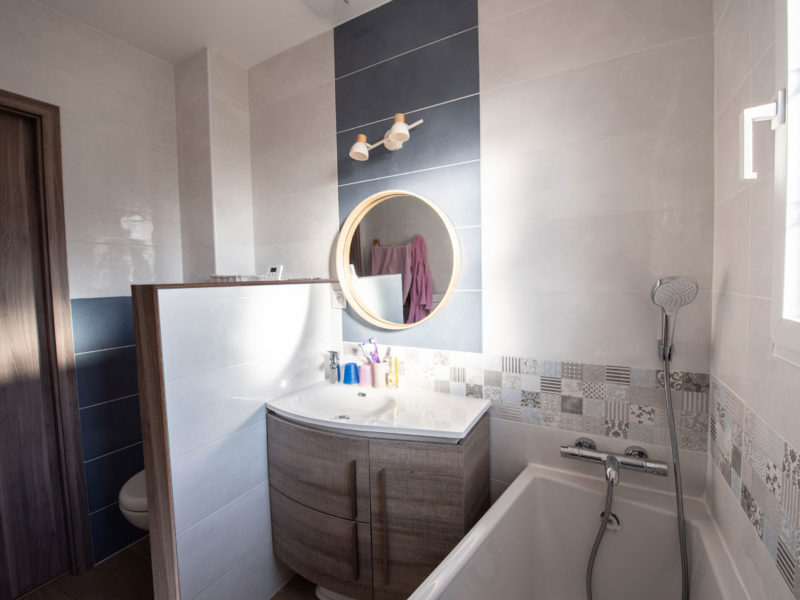 Salle de bain - Architecture d'intérieur - AMBERIEU EN BUGEY- ain