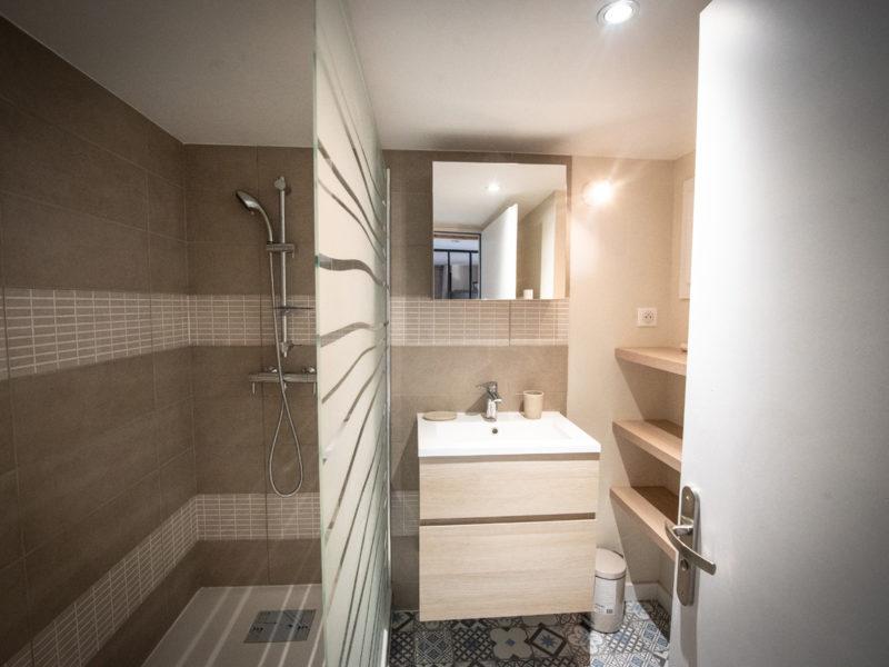 Salle de douche - Aménagement d'intérieur - LYON - rhône