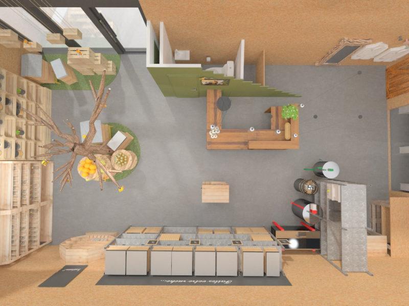 Plan du magasin - Architecture d'intérieur - BOURGOIN JALLIEU - isère
