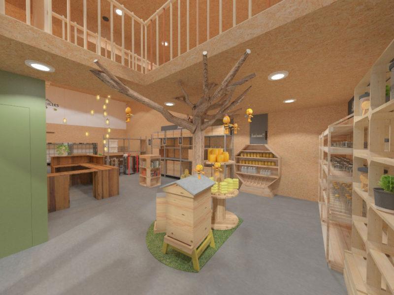 Entrée - Architecture d'intérieur - BOURGOIN JALLIEU - isère