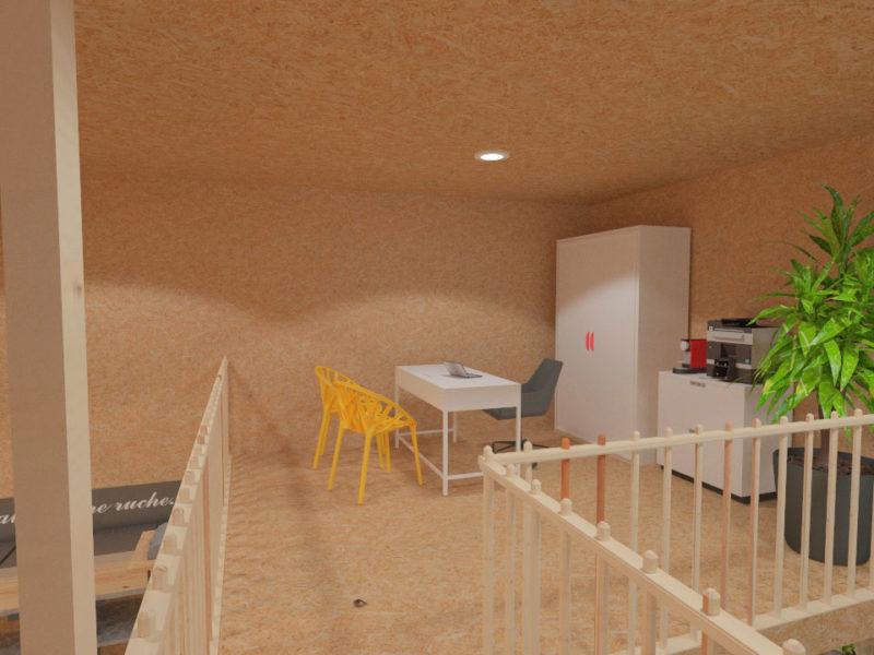 Mezzanine - Architecture d'intérieur - BOURGOIN JALLIEU - isère