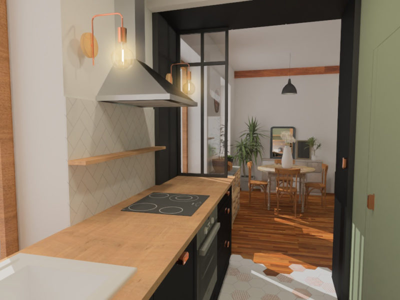 Cuisine- Architecte d'intérieur - LYON - rhône
