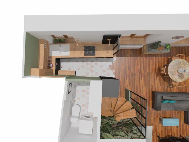 Plan - Architecte d'intérieur - LYON - rhône