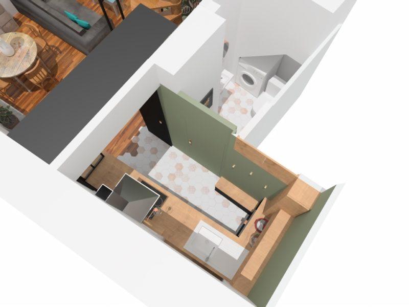 Plan- aménagement - Architecte d'intérieur - LYON - rhône